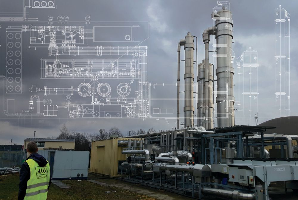 Procedural Optimization of Biogas and Exhaust Air Treatment of a Biogas Plant in Schöpstal